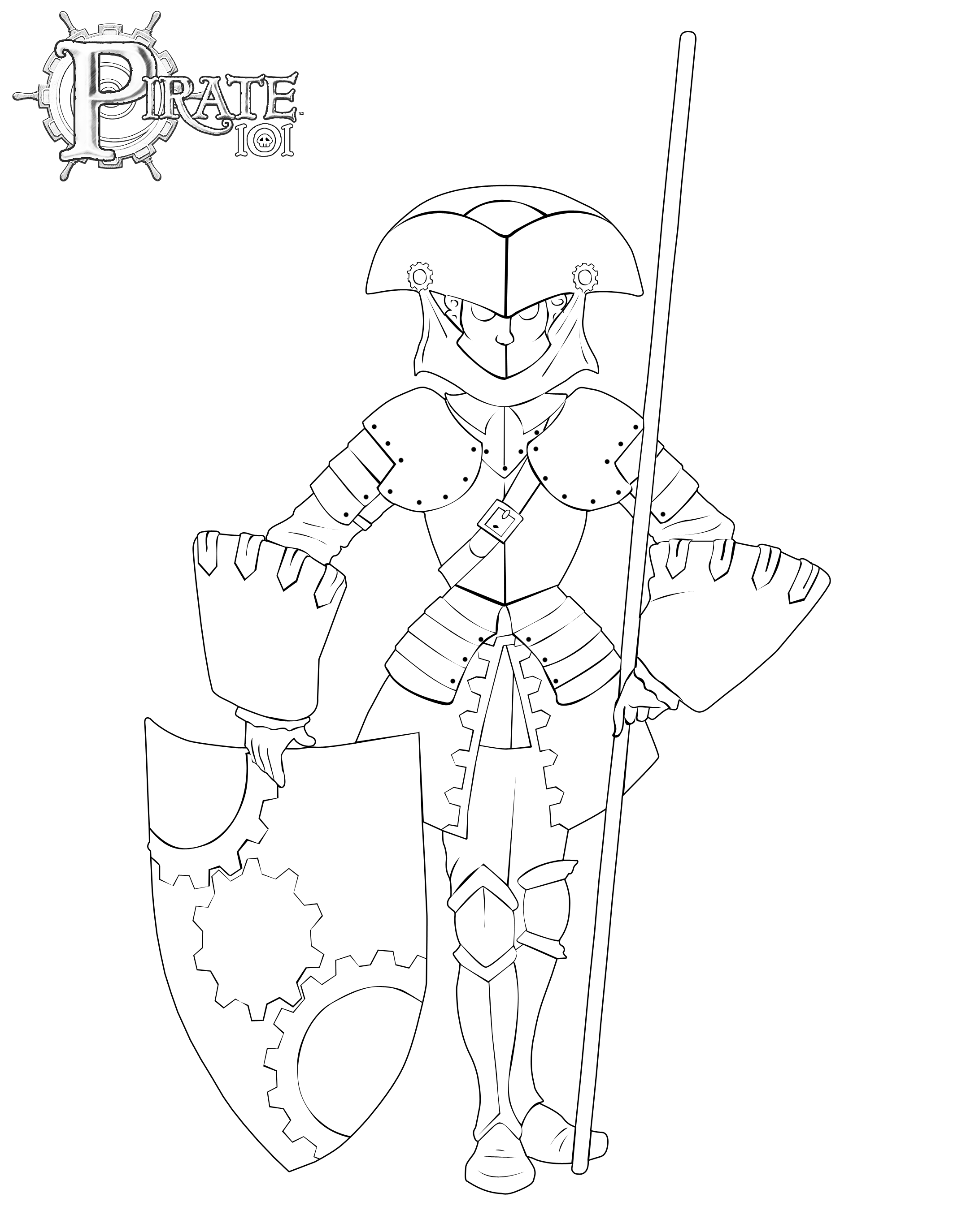 download armada coloring page