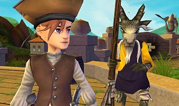 Goat Monk Pirate101 Companion