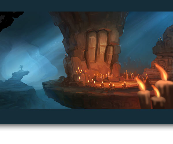 Chamber of the Paw Concept Art