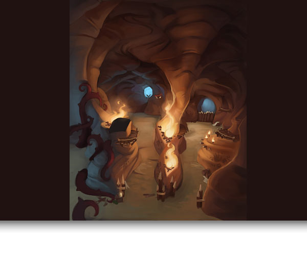 Monquista Cavern Concept Art