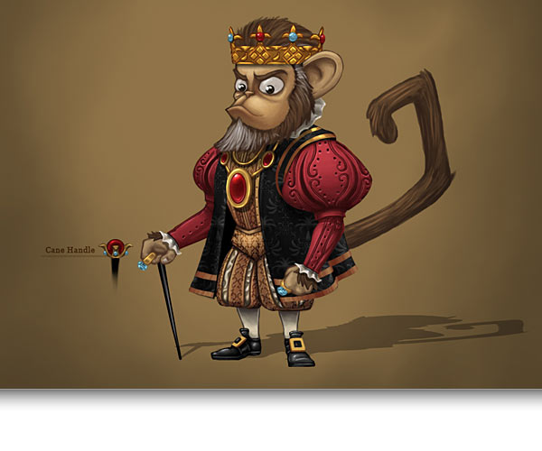 Monquista King Concept Art