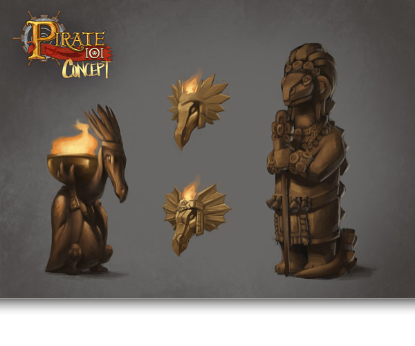 The Art Behind Skull Island Pirate101 Free Online Game