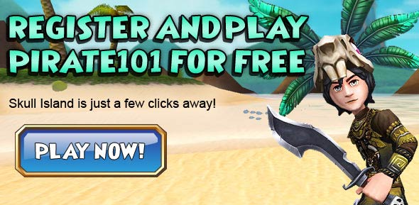 Register today and play pirate games for kids online with Pirate101