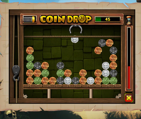 Coin Drop Mini Game