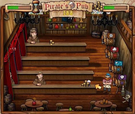 Pirates Pub Mini Game