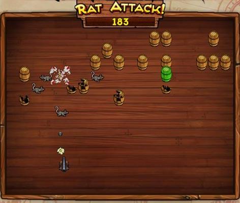 Rat Attack Mini Game