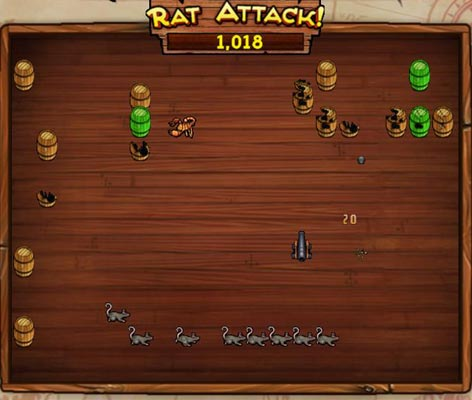 Rat Attack Mini Game