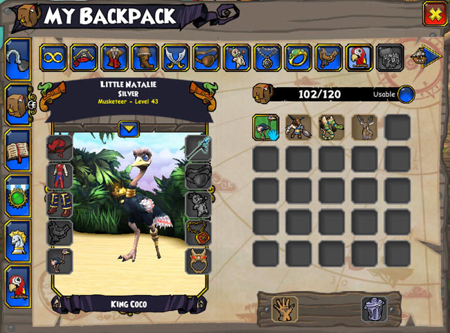 Equipping Pets | Pirate101 Free Online Game