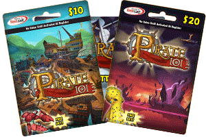 Gift Certificates   Pirate101 Pirates Games Online