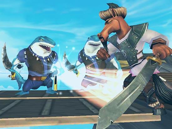 Pirate101 Combat
