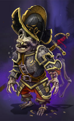 Undead Pirate Monkey